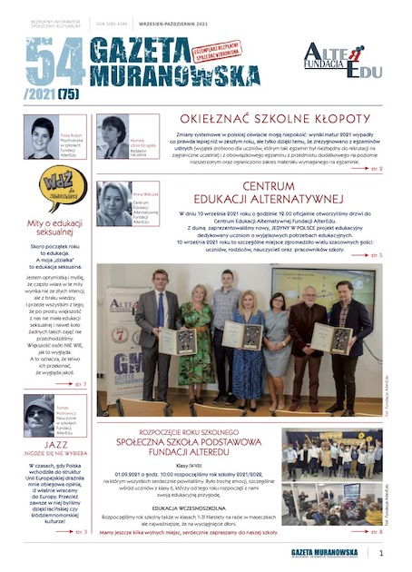 Gazeta Muranowska numer 54, link do pliku PDF